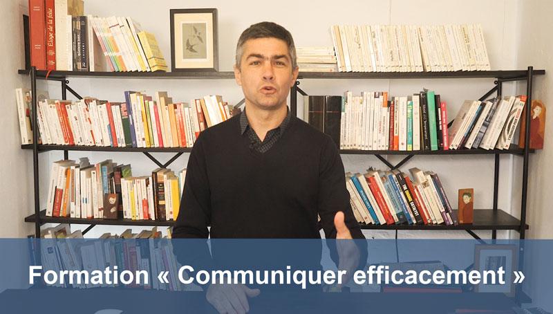 Lancement formation en ligne Communiquer efficacement